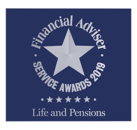 Winner Financial Adviser Service Awards 2019 logo