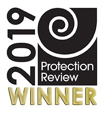 Protection Review Winner logo